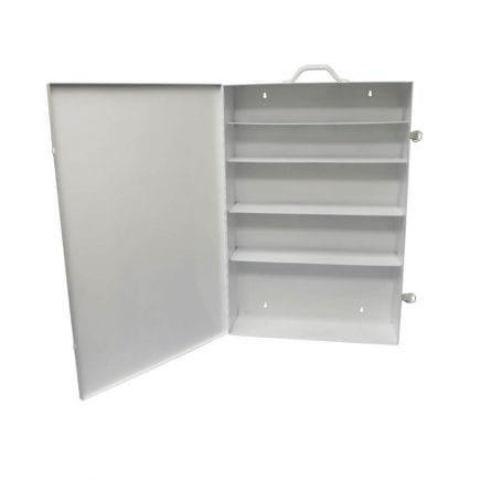 Clearance Empty Extra-Large Industrial First Aid Kit Cabinet