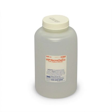Normal Saline 0.9% Sodium Chloride - 500 ml