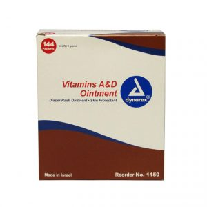 A & D Ointment Skin Protectant - 144 packet box - front view