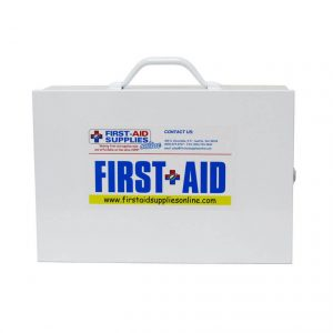 Heavy Duty Construction/Jobsite First Aid Kit - Front View