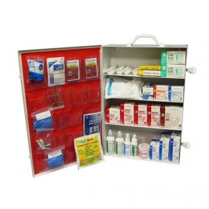 Large Industrial First Aid Kit without Tablets - open view