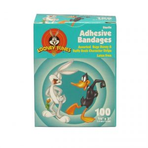 Adhesive Bandages Assorted Bugs & Daffy - 3/4