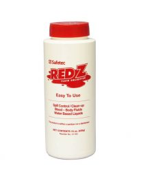 Red Z Fluid Control Solidifier - 15 oz. Shaker  - front view