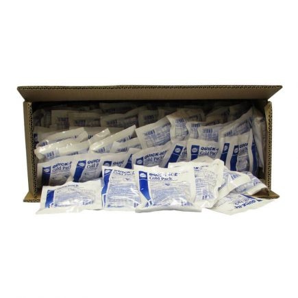 Bulk Instant Ice Pack, Small - Open box view.