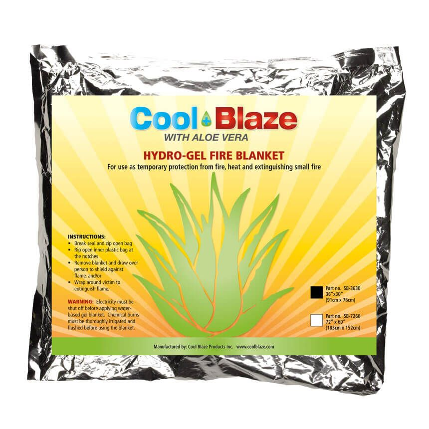 Cool Blaze Fire/Trauma Blanket in Foil Pouch